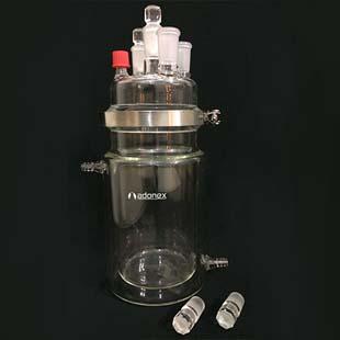 Reator de vidro para bancada a garantia de mais produtividade